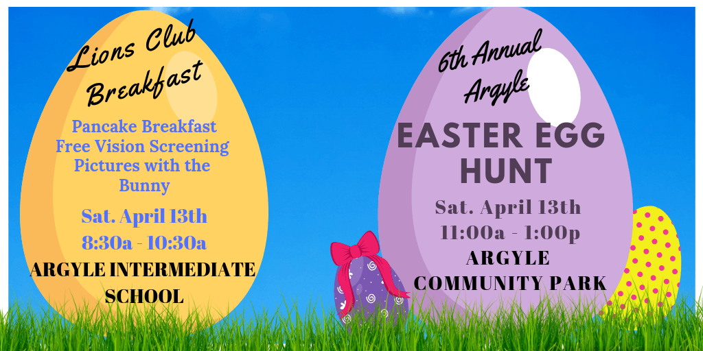 Easter Egg Hunt Info 2019