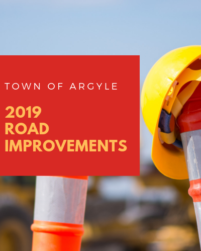 2019 road improvements
