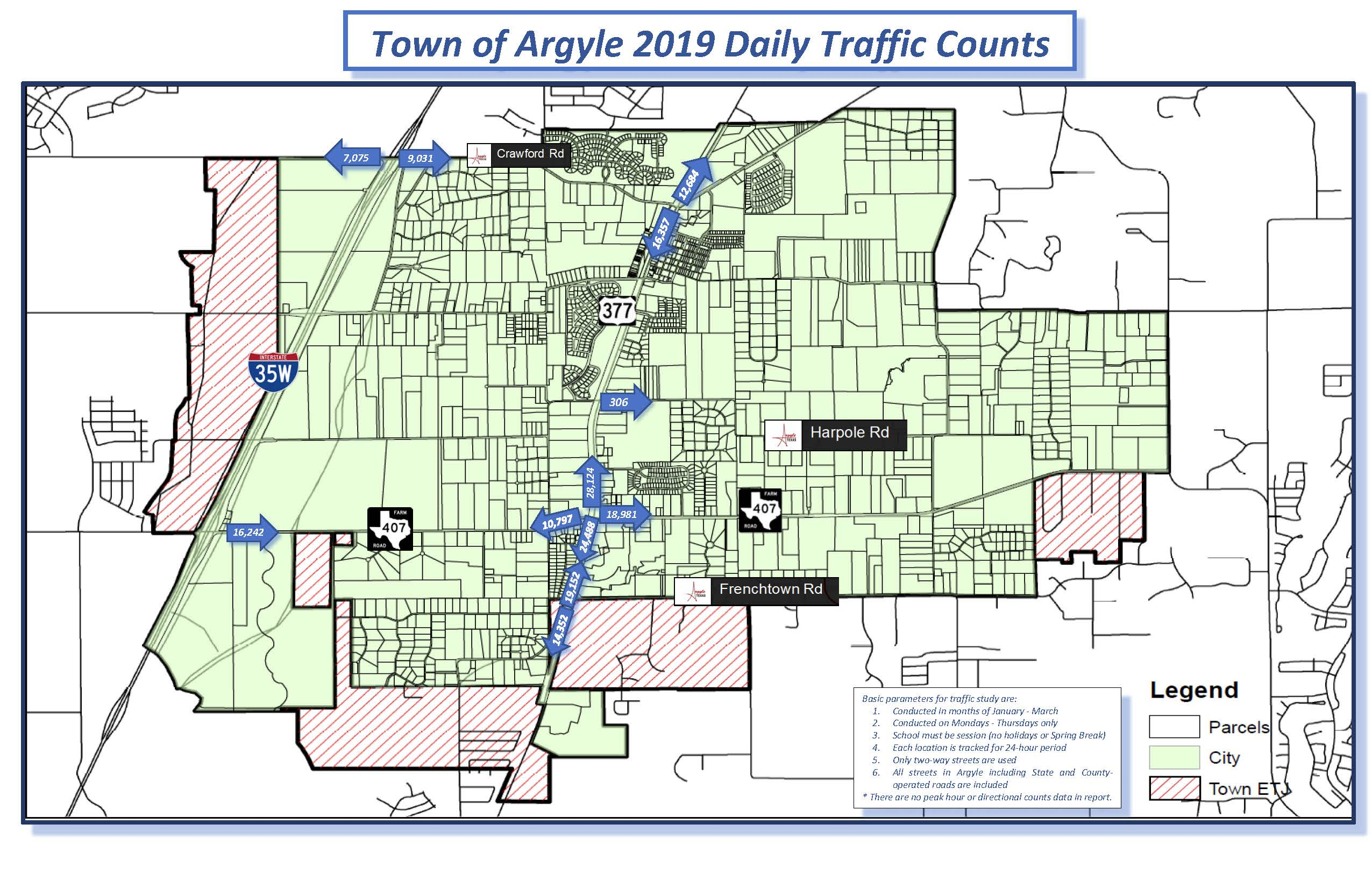Argyle Traffic Counts Map 9.3.19pdf Opens in new window